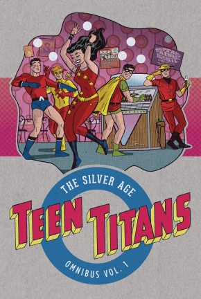 TEEN TITANS THE SILVER AGE OMNIBUS VOLUME 1 HARDCOVER