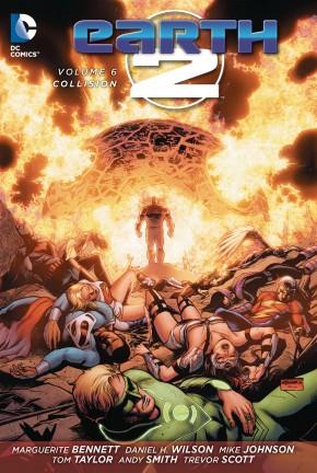 EARTH 2 VOLUME 6 COLLISION GRAPHIC NOVEL