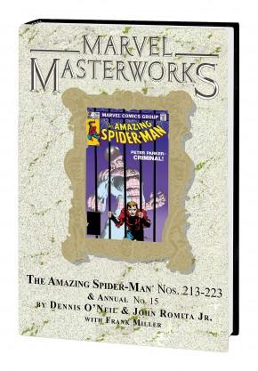 MARVEL MASTERWORKS AMAZING SPIDER-MAN VOLUME 21 DM VARIANT #283 EDITION HARDCOVER