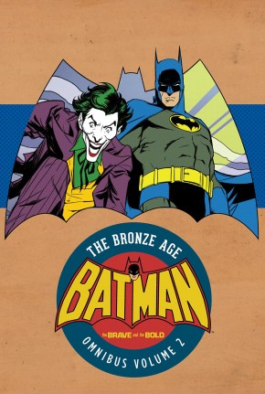BATMAN THE BRAVE AND THE BOLD BRONZE AGE OMNIBUS VOLUME 2 HARDCOVER
