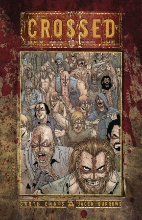 CROSSED 10TH ANNIVERSARY VOLUME 1 HARDCOVER