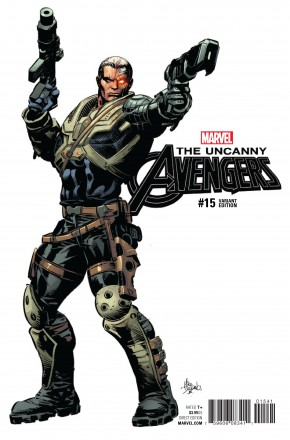 UNCANNY AVENGERS VOLUME 3 #15 DEODATO TEASER 1 IN 10 INCENTIVE VARIANT COVER