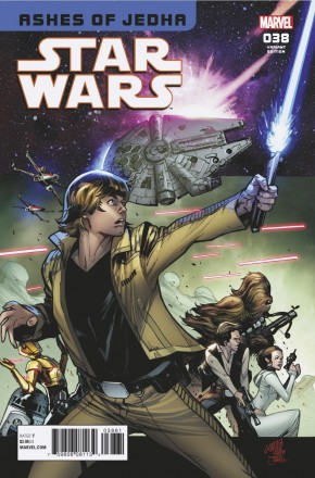 STAR WARS #38 LARRAZ HOMAGE 1 IN 25 INCENTIVE VARIANT