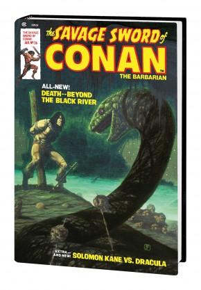 SAVAGE SWORD OF CONAN THE ORIGINAL MARVEL YEARS OMNIBUS VOLUME 2 DM VARIANT HARDCOVER