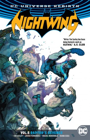 NIGHTWING VOLUME 5 RAPTORS REVENGE GRAPHIC NOVEL