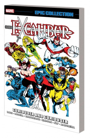 EXCALIBUR EPIC COLLECTION CURIOUSER AND CURIOUSER GRAPHIC NOVEL