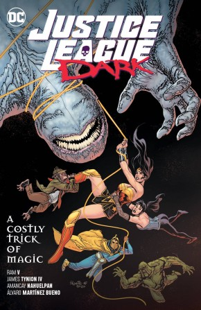 JUSTICE LEAGUE DARK VOLUME 4 A COSTLY TRICK OF MAGIC GRAPHIC NOVEL