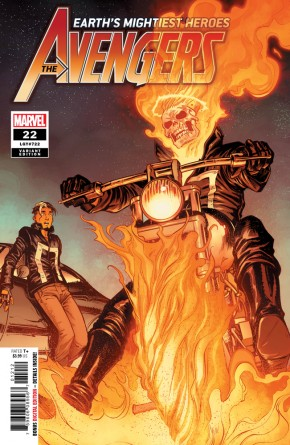 AVENGERS #22 (2018 SERIES) 2ND PRINTING