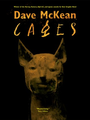 DAVE MCKEAN CAGES GRAPHIC NOVEL