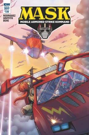 MASK MOBILE ARMORED STRIKE KOMMAND ANNUAL #1