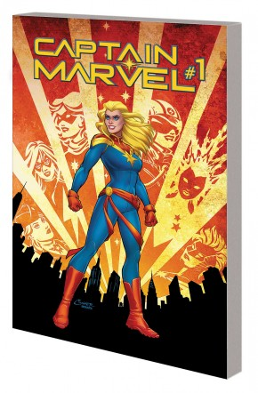 CAPTAIN MARVEL VOLUME 1 RE-ENTRY GRAPHIC NOVEL