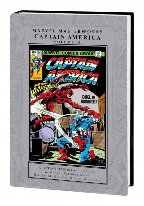 MARVEL MASTERWORKS CAPTAIN AMERICA VOLUME 13 HARDCOVER