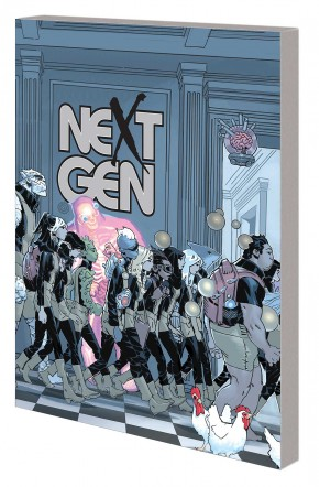 AGE OF X-MAN NEXTGEN GRAPHIC NOVEL
