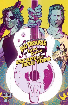 BIG TROUBLE LITTLE CHINA ESCAPE NEW YORK #5