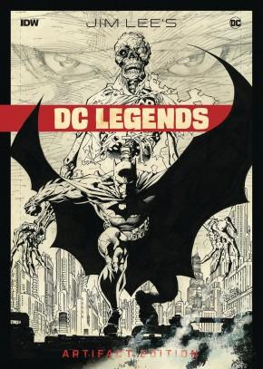 JIM LEE DC LEGENDS ARTIFACT EDITION HARDCOVER