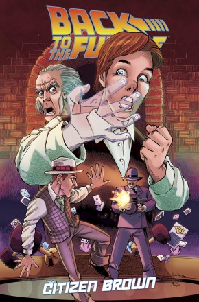 BACK TO THE FUTURE CITIZEN BROWN GRAPHIC NOVEL