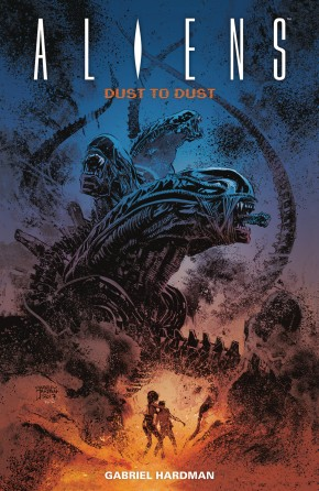 ALIENS DUST TO DUST GRAPHIC NOVEL