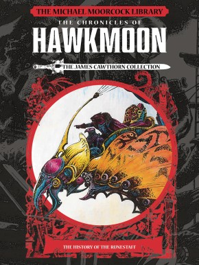 MOORCOCK HAWKMOON VOLUME 1 HISTORY OF THE RUNESTAFF LIBRARY EDITION HARDCOVER