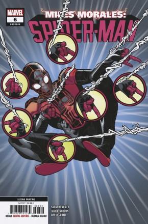 MILES MORALES SPIDER-MAN #6 (2018 SERIES) 2ND PRINTING