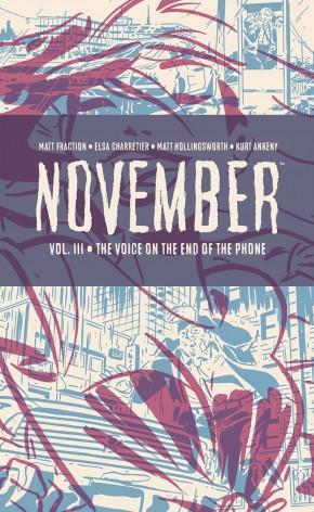 NOVEMBER VOLUME 3 HARDCOVER