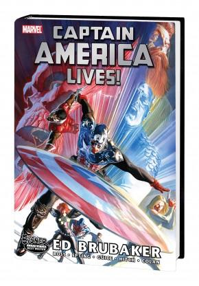 CAPTAIN AMERICA LIVES OMNIBUS HARDCOVER ALEX ROSS COVER