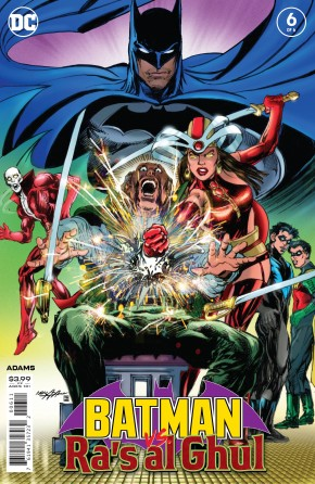 BATMAN VS RAS AL GHUL #6