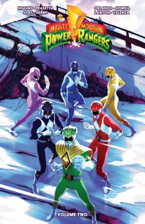 MIGHTY MORPHIN POWER RANGERS VOLUME 2 GRAPHIC NOVEL