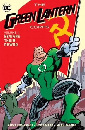 GREEN LANTERN CORPS VOLUME 1 BEWARE THEIR POWER HARDCOVER