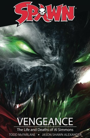 SPAWN VENGEANCE THE LIFE AND DEATH OF AL SIMMONS GRAPHIC NOVEL