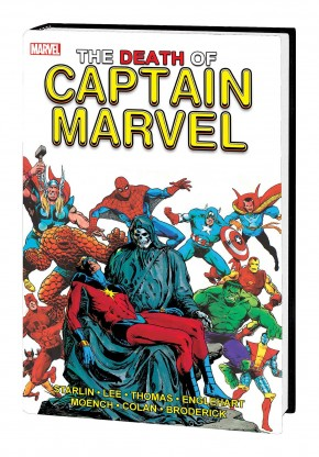 THE DEATH OF CAPTAIN MARVEL GALLERY EDITION HARDCOVER