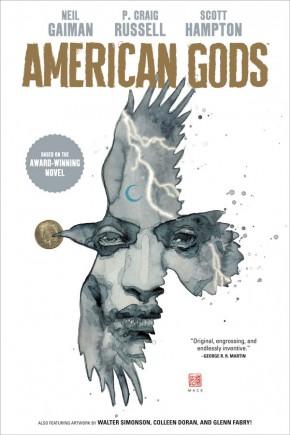 NEIL GAIMAN AMERICAN GODS VOLUME 1 SHADOWS HARDCOVER