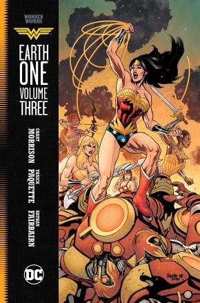 WONDER WOMAN EARTH ONE VOLUME 3 HARDCOVER