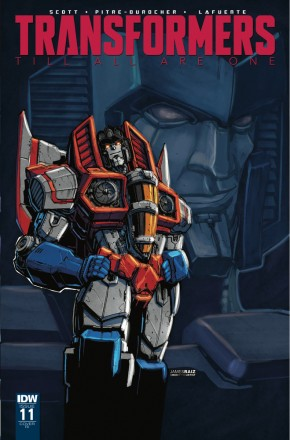 TRANSFORMERS TILL ALL ARE ONE #11 1 IN 10 INCENTIVE VARIANT COVER