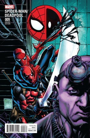 SPIDER-MAN DEADPOOL #9 CLASSIC 1 IN 15 INCENTIVE VARIANT COVER