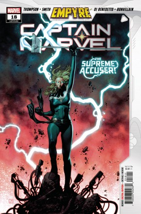 CAPTAIN MARVEL #18 (2019 SERIES) EMPYRE TIE-IN 1ST APPEARANCE OF LAURIE-ELL