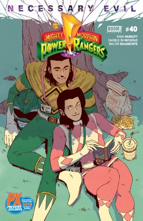 MIGHTY MORPHIN POWER RANGERS #40 SDCC 2019 VARIANT