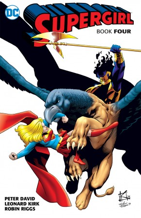 SUPERGIRL BY PETER DAVID BOOK 4 GRAPHIC NOVEL