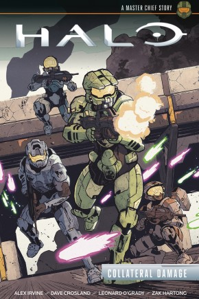 HALO COLLATERAL DAMAGE HARDCOVER