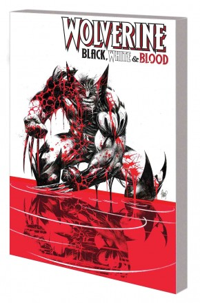 WOLVERINE BLACK WHITE AND BLOOD TREASURY EDITION GRAPHIC NOVEL