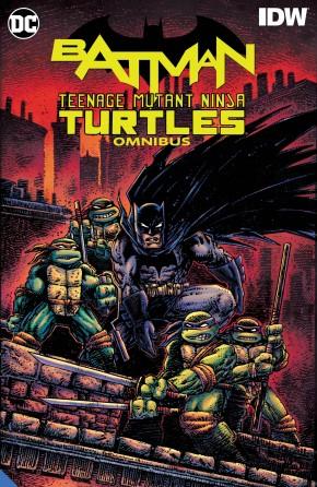 BATMAN TEENAGE MUTANT NINJA TURTLES OMNIBUS HARDCOVER