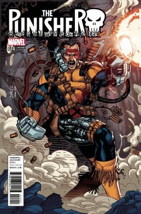 PUNISHER #14 (2016 SERIES) X-MEN CARD VARIANT