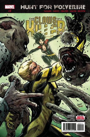 HUNT FOR WOLVERINE CLAWS OF KILLER #2