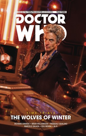 DOCTOR WHO 12TH DOCTOR TIME TRIALS VOLUME 2 WOLVES OF WINTER HARDCOVER