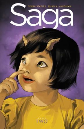 SAGA VOLUME 2 DELUXE EDITION HARDCOVER