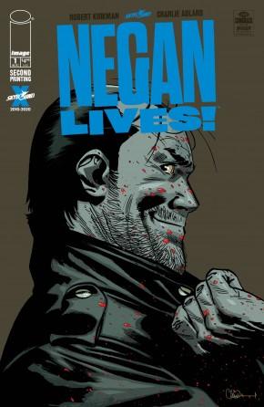 NEGAN LIVES #1 2ND PRINTING