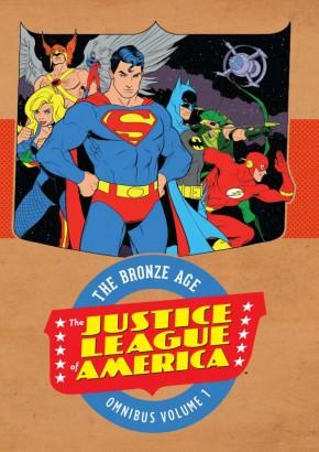 JUSTICE LEAGUE OF AMERICA BRONZE AGE OMNIBUS VOLUME 1 HARDCOVER