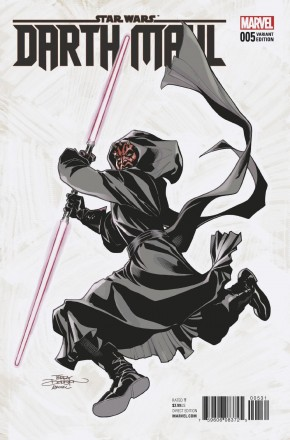 STAR WARS DARTH MAUL #5 DODSON 1 IN 25 INCENTIVE VARIANT