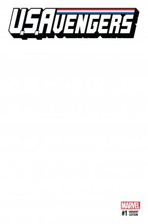 US AVENGERS #1 BLANK VARIANT COVER