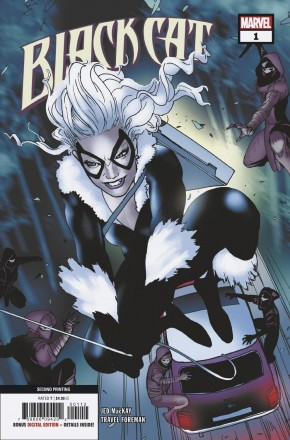 BLACK CAT #1 (2019 SERIES) 2ND PRINTING