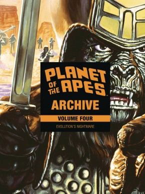 PLANET OF THE APES ARCHIVE VOLUME 4 HARDCOVER